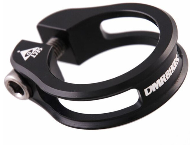 DMR Sect Saddle Clamp 35 mm, for shaft coupling, black